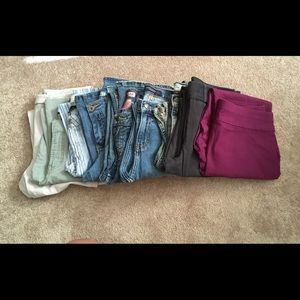 9 pairs of pants